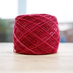 This beautiful skein of cranberry coloured yarn is being turned into snowflake socks. If you're unsure how to cast on for cuff down socks why not check out my YouTube video for the Tillybuddy's cast on - my favourite stretchy cast on.