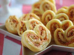 Découvrez la recette Palmiers au saumon et au sésame sur cuisineactuelle.fr.