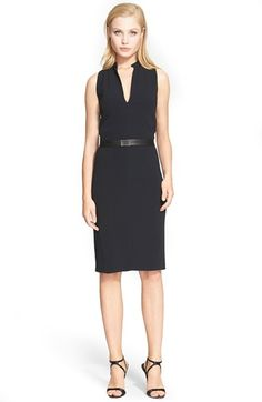 Narciso Rodriguez Crepe Sheath Dress available at #Nordstrom