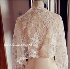 Exquisite Ivory Alencon Lace Fabric Trim, Wedding Veil Bridal Lace Trim, Wedding Fabric Lace, Bridal Lace Shrug SALE on Etsy, $19.59 AUD