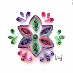 Quilled paper art : '' Waiting For Spring '' _ #QuillingByAslim #quilling #paperart #paper #papel #handmade #art #artoftheday #wallart #homedecor #folkart #giftideas #colourful #gift #CyprusFolkArt #floraldesign #flower #kağıttelkari #elişi #rengarenk #hediyelik #çiçek #sele #sesta #Kıbrıs