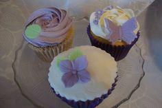 purple cupcake designs