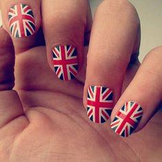 Lovely Union Jack #nails!