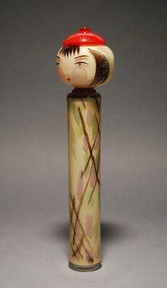 "Glass Kokeshi ""Naruko"" David Svenson, Pilchuck Glass School"