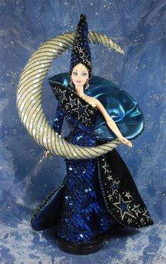 colectable barbies | Bob Mackie Moon Goddess Barbie | CollectorsLife.com