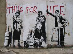banksy-graffiti-street-art-thug-for-life