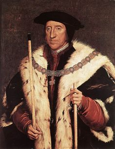 HOLBEIN, Hans the Younger -1536-1543- Thomas Howard, Prince of Norfolk | da Faces of Ancient Europe