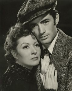 The Valley of Decision, 1945, with Gregory Peck and Greer Garson. One of the most heartwarming movies ever :)