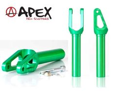 UpsideDown Scooters - Apex Quantum Forks - Green, $189.00 (http://www.upsidedownscooters.co.nz/apex-quantum-forks-green/)