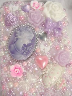 Lavender decoden phone case
