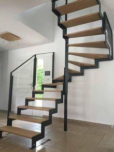 Home Design 2017, House Design, House Stairs, Stair Railing, Staircase Design, Loft, Storage, Metz Nancy, Furniture