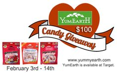 $100 Worth of YUM EARTH Natural Candy - Delight Your Mouth! ~ JamericanSpice