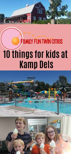Camping with kids, family camping, camping resort, rv camping, fun campgrounds