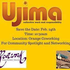 Save The Date!!! More details to come. #embraceyourcommunity #businesscommunity #communityspotlight #networking #ujimamagazine2016 #behindthescenes #febevent2016 @meintheatx @paigeturna7 @jus_blessd_ @angel_lifemusicatx #austin #business2016 @demarcrealtalk @chiquittaharris @jeanettewhill @mbcaustin