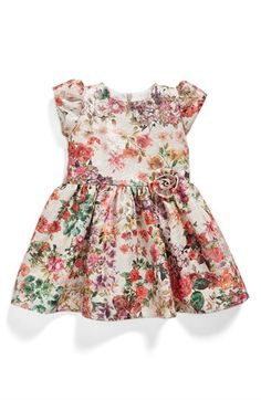 Halabaloo+Floral+Print+Party+Dress+(Baby+Girls)+available+at+#Nordstrom