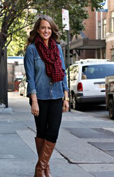 How to turn any plaid shirt into a scarf (or any pattern shirt)