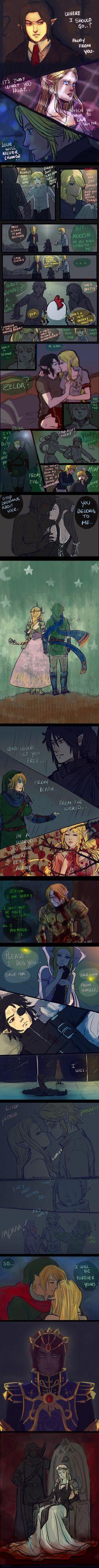 +(- The legend of Zelda doodles [10] -)+ by AngelJasiel