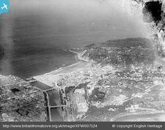 Vista aérea en 1921.