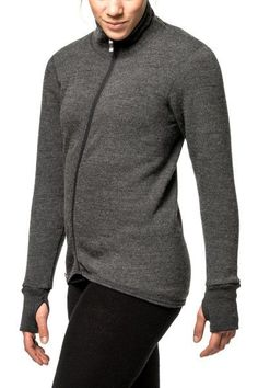 TURTLENECK SWEATER WITH FULL ZIPPER - 400 g/m2 from Winter Outfitters
