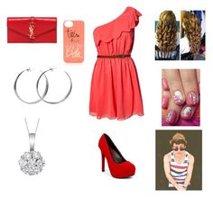 """""""Party with Max"""" by harrystylesandliampayne ❤ liked on Polyvore featuring beauty, Rare London, Qupid, Yves Saint Laurent, Rifle Paper Co, Coco's Liberty and Allurez"""