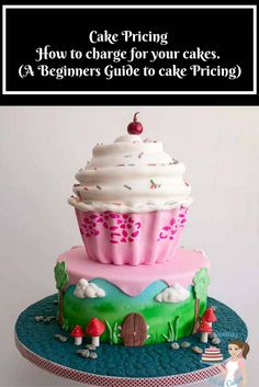 Cake pricing or how to price your cakes can be the most challenging and intimidating question to most beginners in the cake decorating world. In this post I have shared how to analyze, the methods I use as well as how to calculate the final price. Homemade Marzipan Recipe, Homemade Cakes, Cake Decorating For Beginners, Cake Decorating Tutorials, Decorating Ideas, Cake Pops, Cake Smash, Cake Decorating Books, Giant Cupcake Cakes