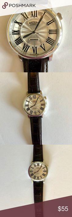 3f1ee168deb Men s Rotary Brown Leather watch- 1895 Men s Rotary Brown Leather watch-  1895 Rotary Watches