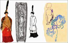 A closer look at Princess Ukuk's shoulder tattoo...2500 years late