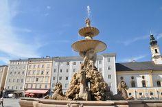 Fontana della Residenza (fountain) - Salzburg, Austria