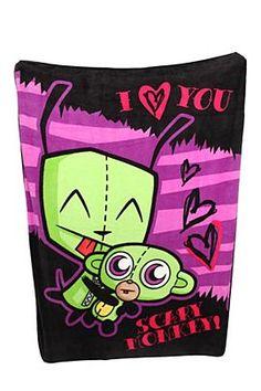 invader zim valentine cards