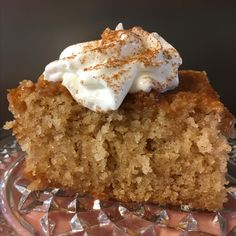 Buttery Cinnamon Cake The best cinnamon style cake I have made and eaten My whole family loves it as well I made no changes to the recipe and it is so easy to make compa. Cinnamon Cake Recipes, Best Cake Recipes, Sweet Recipes, Baking Recipes, Dessert Recipes, Pavlova, Just Desserts, Delicious Desserts, Healthy Desserts