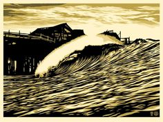 """P.O.P. WAVE"" by Shepard Fairey (@OBEYGIANT) ON SALE TODAY @ A RANDOM TIME 139,5€ #GoodBoutique #StreetArt #Soon"