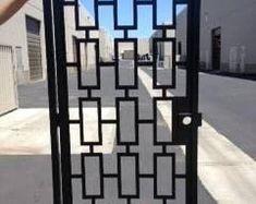 Bonsai Tree Gate Metal Art Pedestrian Walk Thru Entry Iron Steel Garden Metal Driveway Gates, Metal Gates, Iron Gates, Window Grill Design Modern, Entry Door Hardware, Window Bars, Entry Gates, Iron Steel, Modern Architecture House