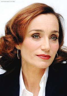 Very Beautiful Woman, Beautiful Eyes, The English Patient, Kristin Scott Thomas, French Actress, British Actresses, Female Images, Best Actress, Happy Girls
