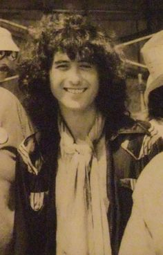 Jimmy Page - classic smile.