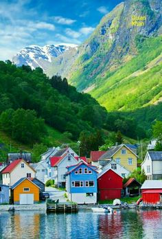 So beautiful view of the Norway