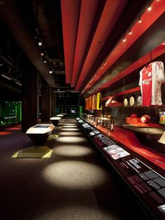 Ajax Experience Museum by Sid Lee Architecture & gsmprjct° visual merchandising store design exhibit design