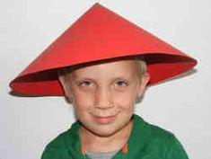 Chinese theme hat craft