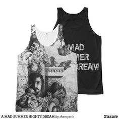A MAD SUMMER NIGHTS DREAM All-Over-Print TANK TOP Printed Tank Tops, White Elephant Gifts, Summer Nights, My Design, Mad, Tank Man, Shop Now, My Style