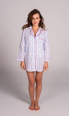 3146b8eb831 Vivienne Lavender Night Shirt