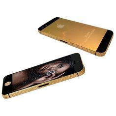Gold iPhone 5S ❤ liked on Polyvore featuring phones, electronics, accessories, tech, iphone, cases and mobile