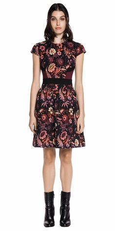 a2df8d2c0d0 CUE - Floral Jacquard Full Dress. C91078 RRP $244.30. Cue Clothing, Office  Fashion