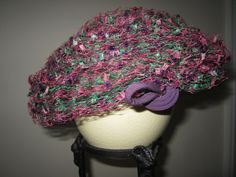 Vintage 1950's Hat with Overlay Netting by JewelsOfHighElegance, $12.50