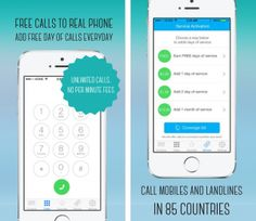 Unlimited Free Voice Calls  to both Landlines and Mobiles can now be done with Call+, a new app