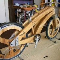 wood bike at DuckDuckGo Wood Bike, Wooden Bicycle, Wooden Wheel, Into The Woods, Muebles Estilo Art Nouveau, Bamboo Bicycle, Velo Cargo, Industrial Console Tables, Cnc Wood
