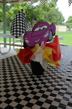 Disney's Cars Birthday Party Ideas | Photo 28 of 31 | Catch My Party