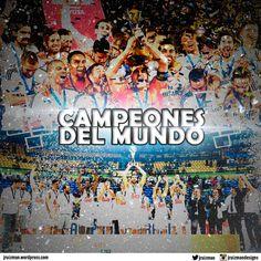 El Madrid es vigente campeón del mundo en fútbol y basket. 1er equipo que lo consigue en la historia del deporte.