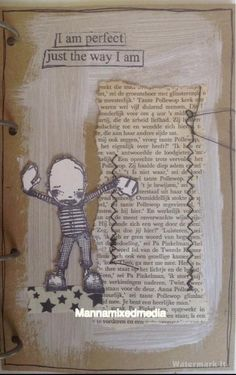 Artwork created by Manna Pais using rubber stamps designed by Daniel Torrente for Stampotique Originals