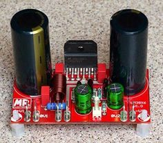 Hi-Fi Mono Audio Amplifier Diy Bluetooth Speaker, Diy Speakers, Electronic Circuit Projects, Electronic Engineering, Diy Electronics, Electronics Projects, Componentes Smd, Diy Boombox, Hifi Amplifier
