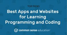 Best Apps and Websites for Learning Programming and Coding Basic Programming, Computer Programming, Computational Thinking, Coding Languages, Coding For Kids, Vocabulary Games, High Frequency Words, Bilingual Education, Technology Integration