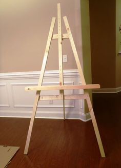 Lazy Liz on Less: Build a Cheap, Quick and Easy Artist Easel … will definitely be making these this weekend!